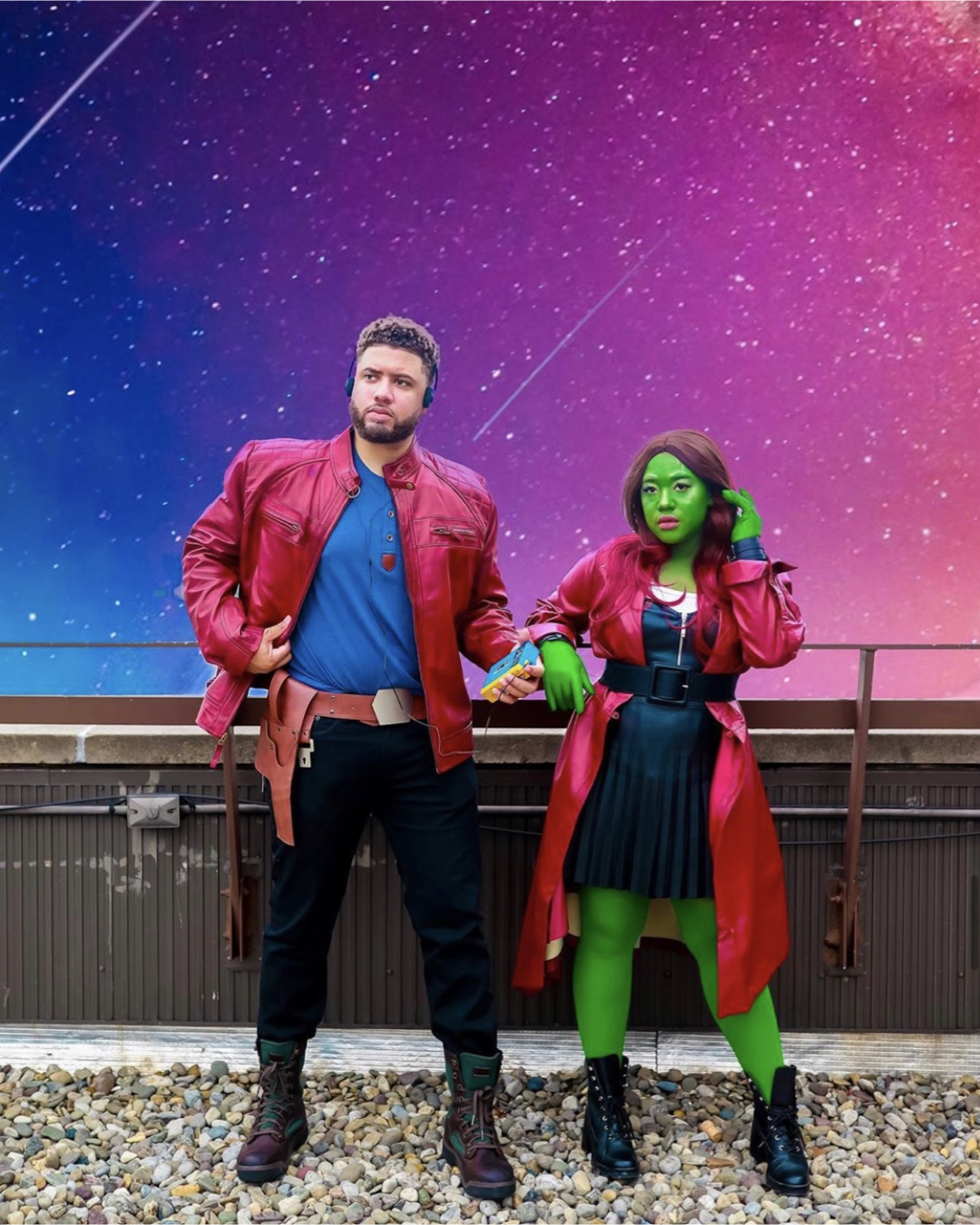 STARLORD & GAMORA COSTUME from Guardians of the Galaxy