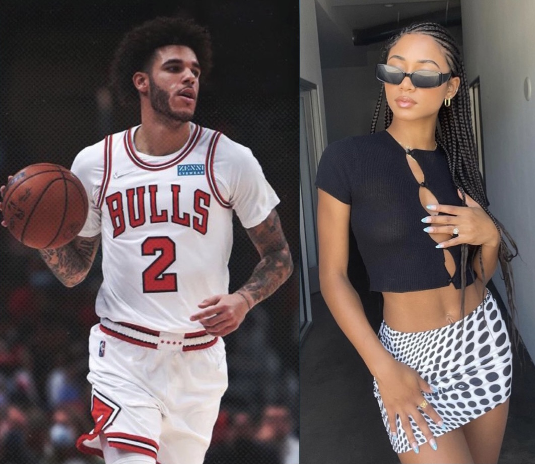 Lonzo Ball And Girlfriend Ally Rossell Are Spending Time In Chicago