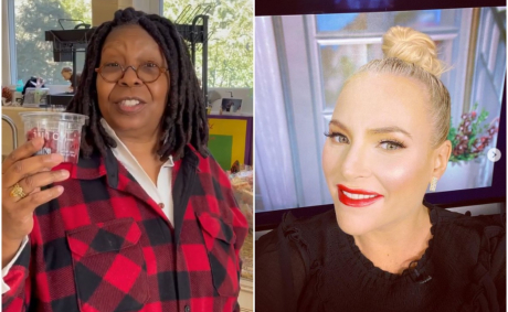 'Girl Please Stop Talking': Meghan McCain Says Whoopi Goldberg 'Turned On Her' Causing Tension On The View