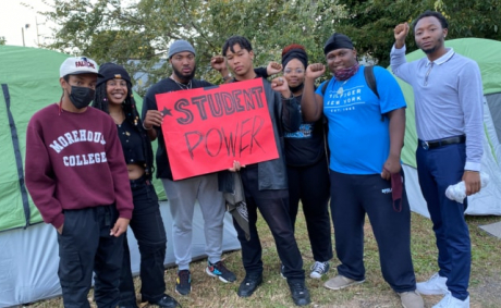 Atlanta HBCU students protest, sleep in tents for better campus conditions