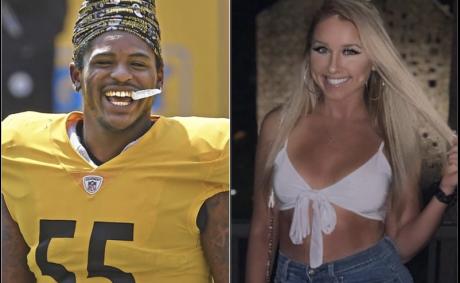 Steelers Devin Bush Goes Instagram Official With Shkurte Leka aka Skootie Bootie 7