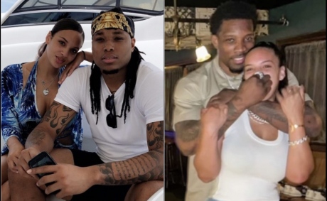 Briona Mae Shows Off Her Clippers Eric Bledsoe Neck Tattoo