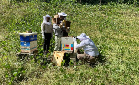 JCSU Resident Beekeeper Teaches Students Life Lessons From Bee Colonies