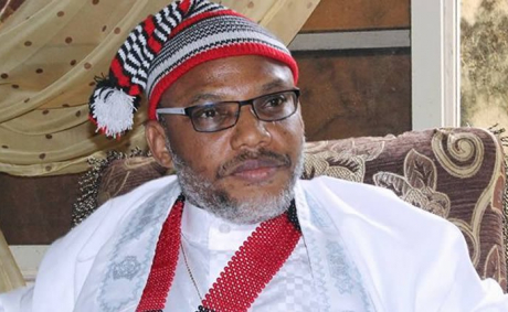 Treason: Nnamdi Kanu brought to court amidst tight security